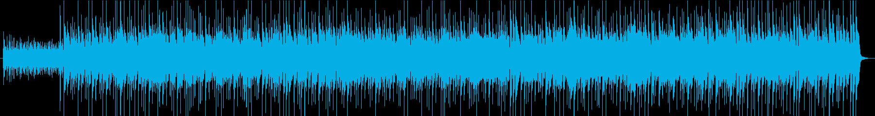 秒数ピッタリ・ロッキー風筋トレ動画BGMの再生済みの波形