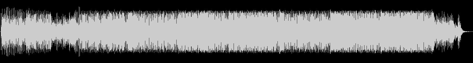 オープニング向きトロピカルピアノハウスの未再生の波形