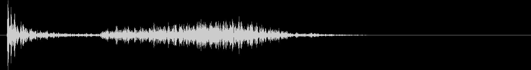 【生録音】ペンで書く音 机 14の未再生の波形