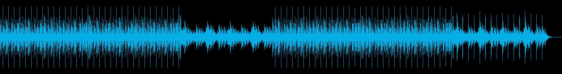 穏やか・優しい・ローファイ・ヒップホップの再生済みの波形