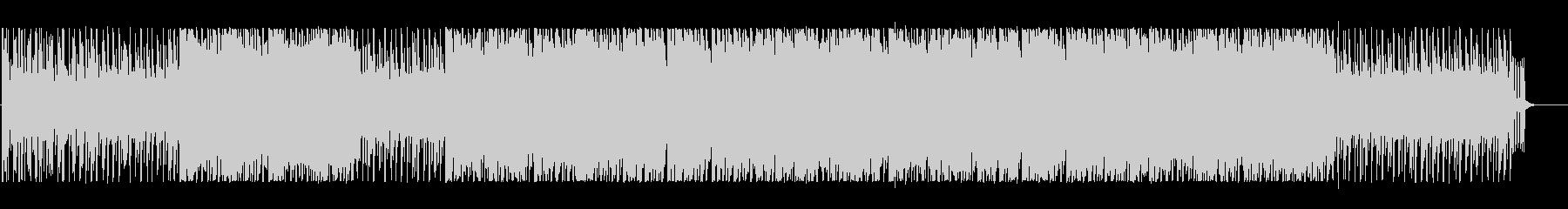 ファンタジックでポップなBGMの未再生の波形