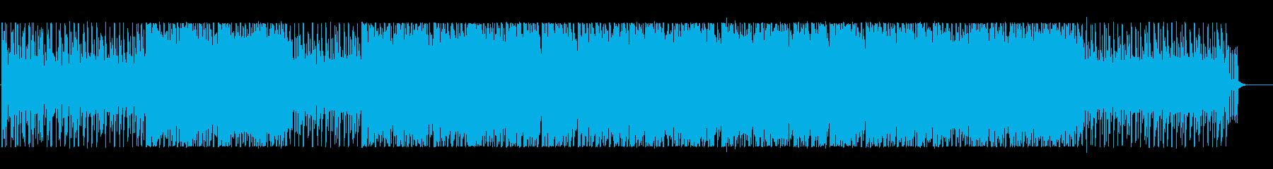 ファンタジックでポップなBGMの再生済みの波形