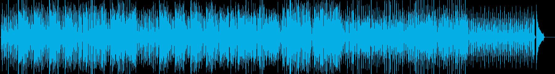 Jazzスウィング=軽快・カフェ・明るいの再生済みの波形