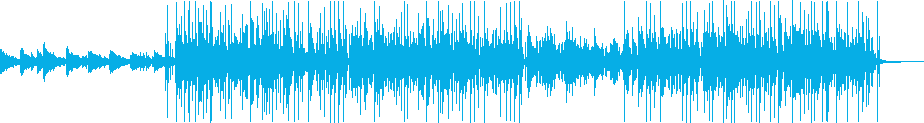 Lo-fi Hip Hop風のBGMですの再生済みの波形