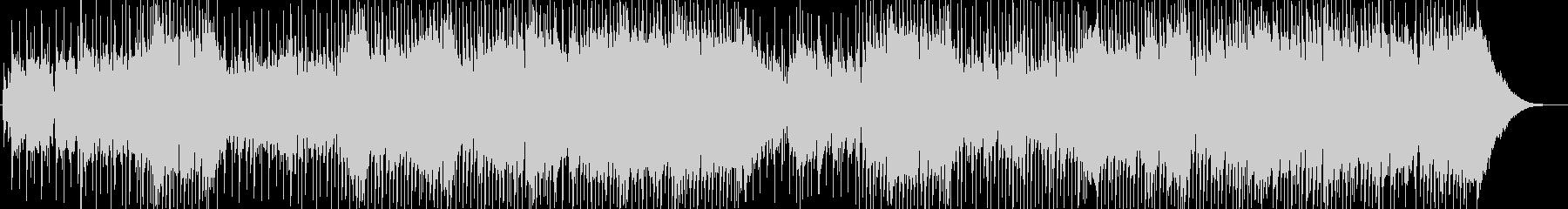ギターとブルースハープのハードロックの未再生の波形