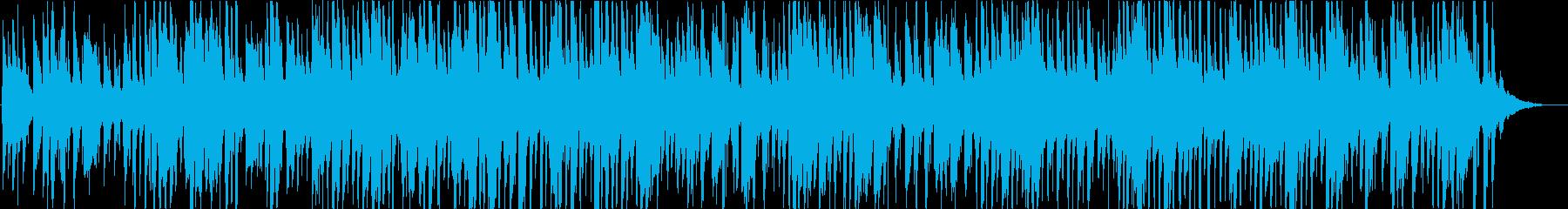 怪しいジャズの再生済みの波形