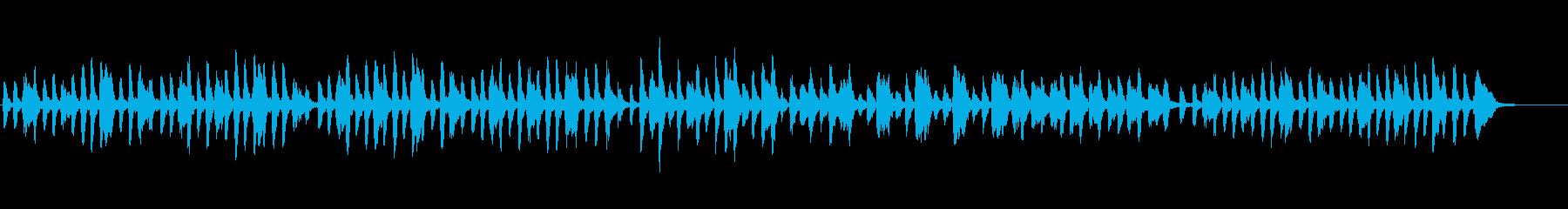 チャイコフスキーのポルカの再生済みの波形