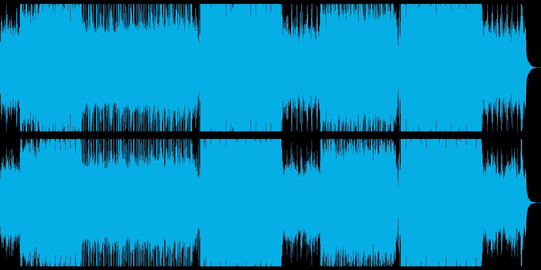 爽やかで感動的なシンフォエレクトロニカ。の再生済みの波形