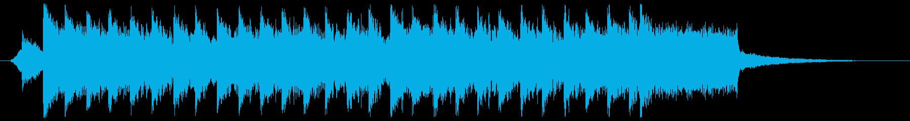 EDM02・オープニング・勇気Sの再生済みの波形