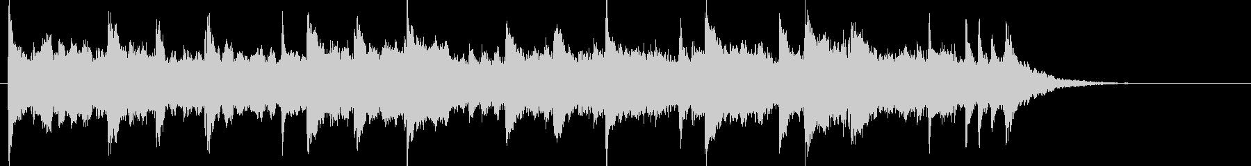 クリーン エレキギター アンビエントの未再生の波形