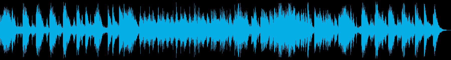 響きが綺麗でファンタジーなメロディーの再生済みの波形