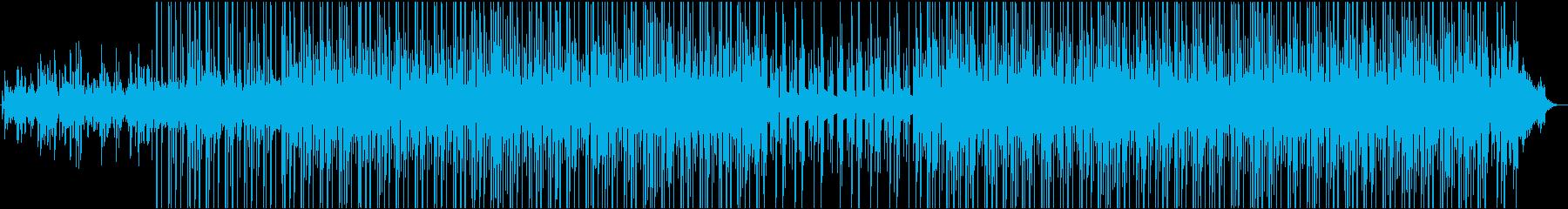 感謝の気持ちを伝えるときのBGMの再生済みの波形