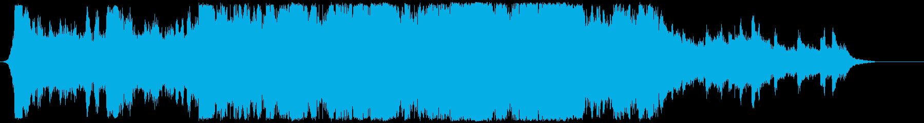 ハリウッド映画風の壮大なオーケストラ3の再生済みの波形