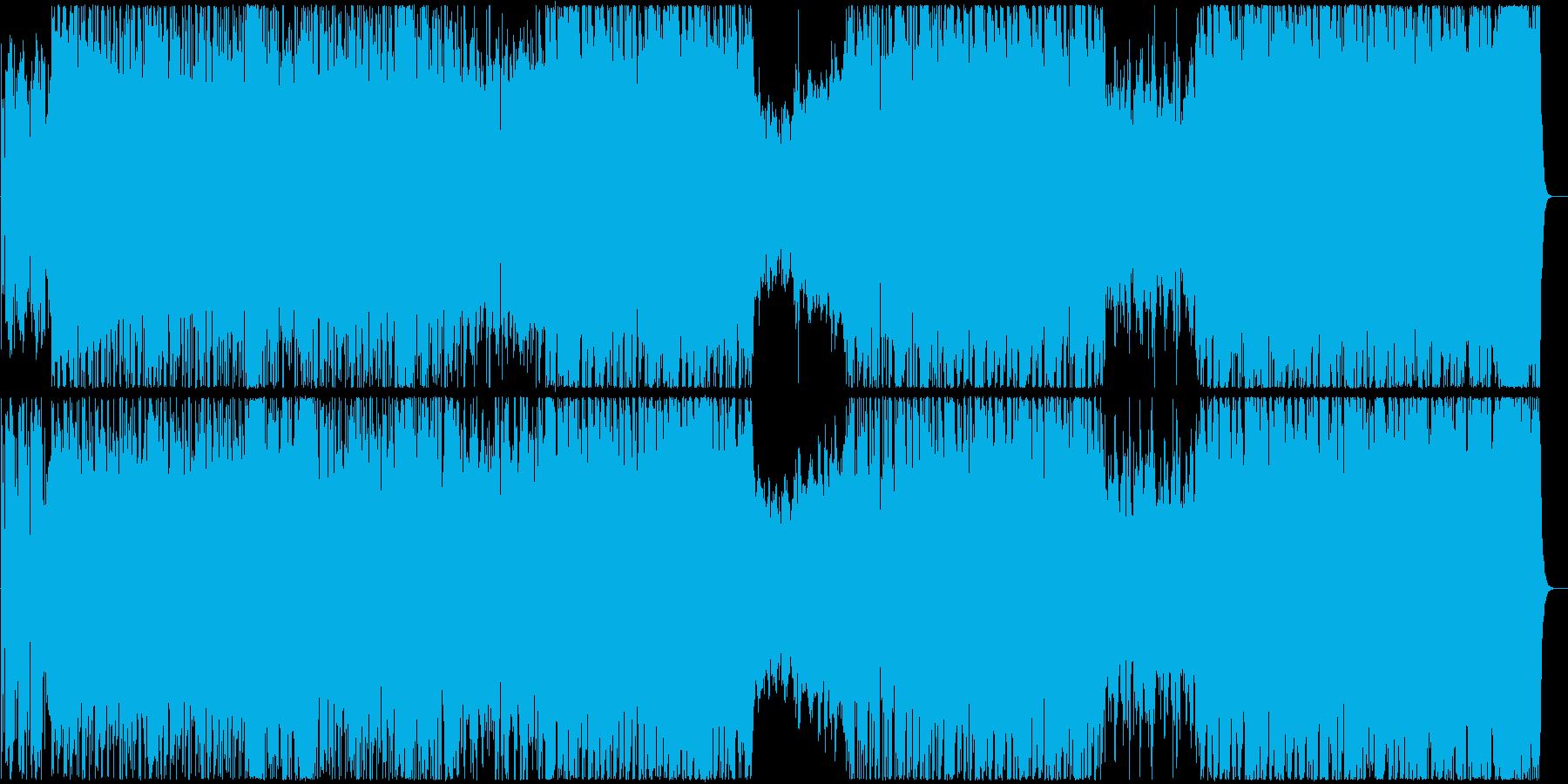 神秘的・民族的な女性コーラス曲の再生済みの波形