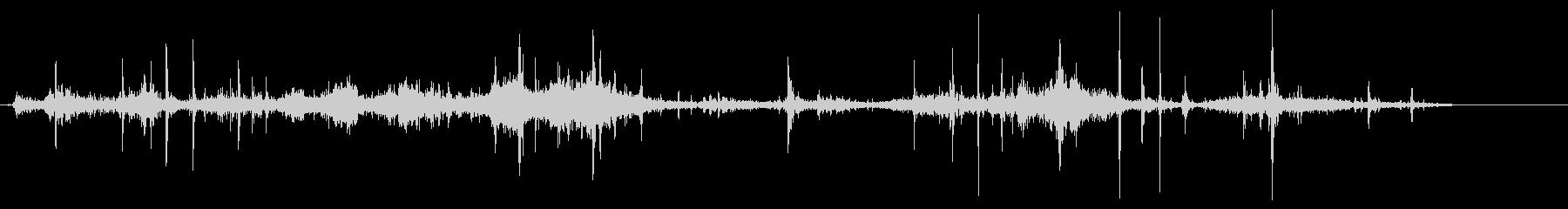 紙を丸める効果音 04の未再生の波形