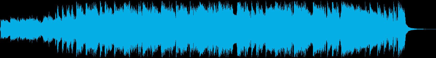 ロッキングブルージートラックは、1...の再生済みの波形