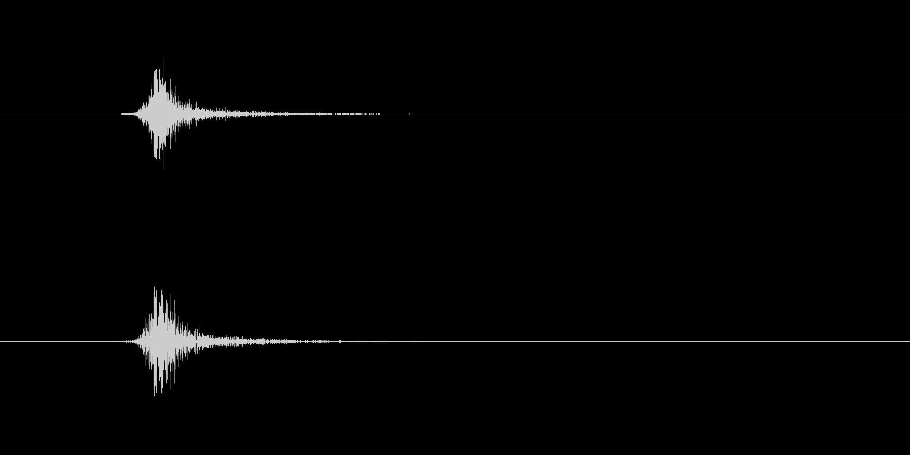 火 トーチヒューシュショート04の未再生の波形
