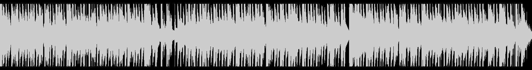 民族風哀愁漂うコミカルBGM(loop)の未再生の波形