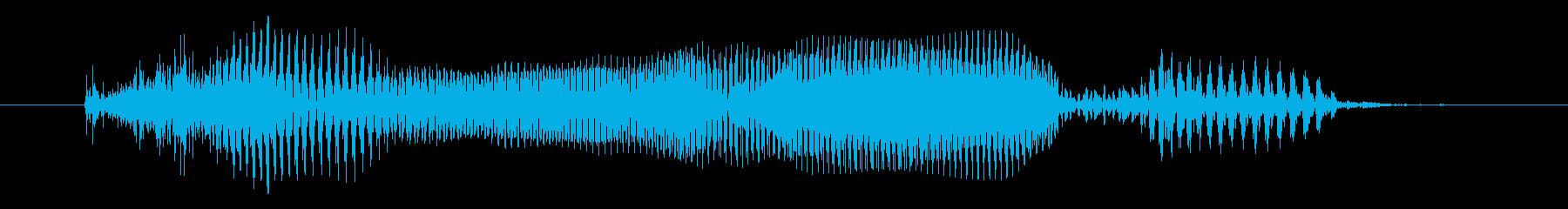 金曜日  (男性/明るめ)の再生済みの波形