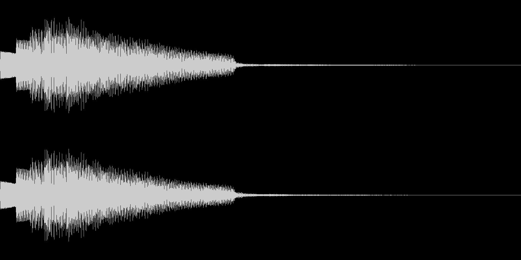 楽器 エレピ アルペジオ ボタンの未再生の波形