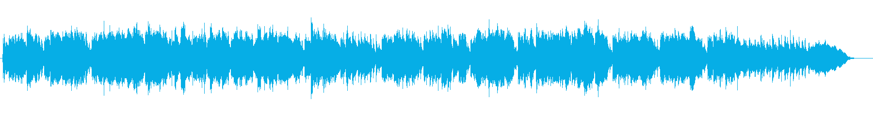 ヴィヴァルディ「冬」 第2楽章 『四季』の再生済みの波形