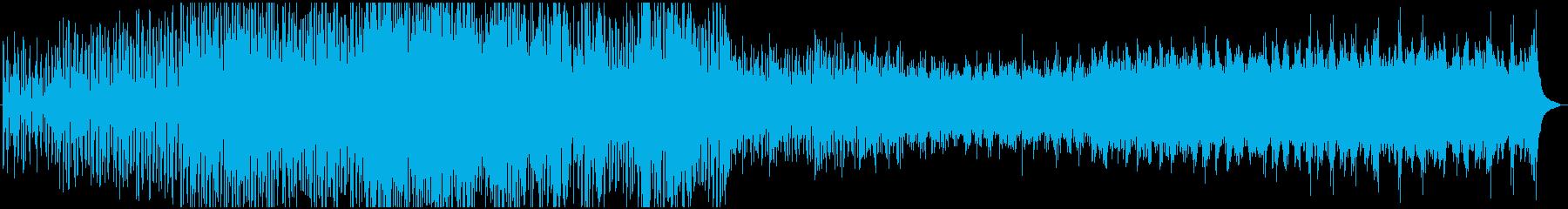 マリンバを中心としたミニマル風の曲です。の再生済みの波形
