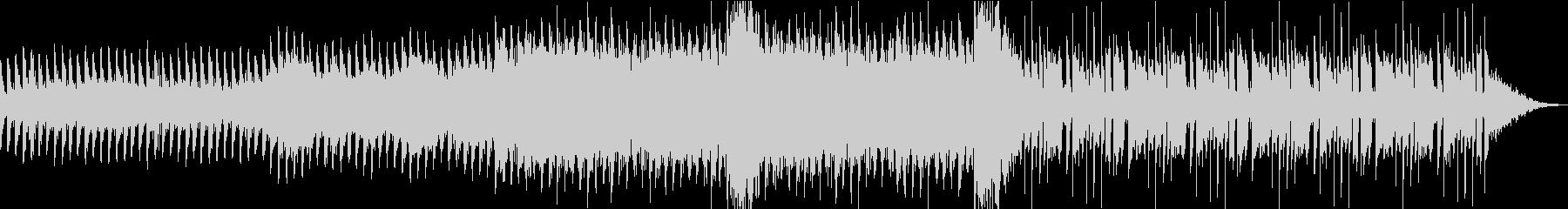 ショートムービー用 BGM の未再生の波形