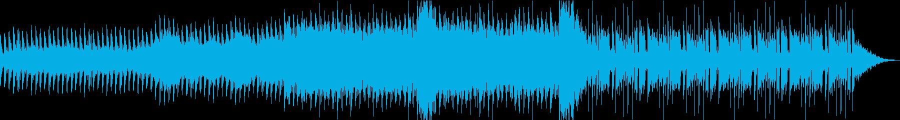 ショートムービー用 BGM の再生済みの波形