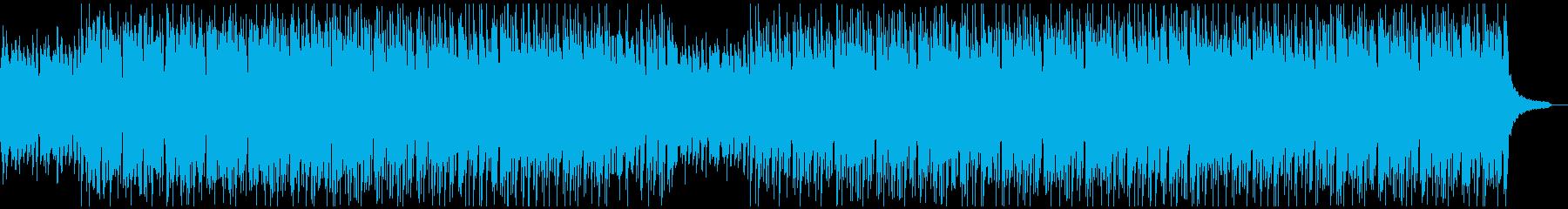 ハイテンポで怪しいジャズの再生済みの波形