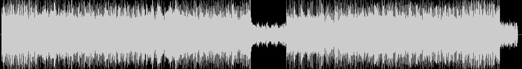 ダークなハードロック系の曲 BGM225の未再生の波形