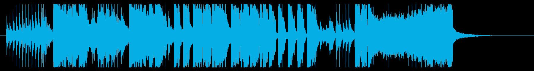 ビッグバンドのナイトショーオープニング風の再生済みの波形