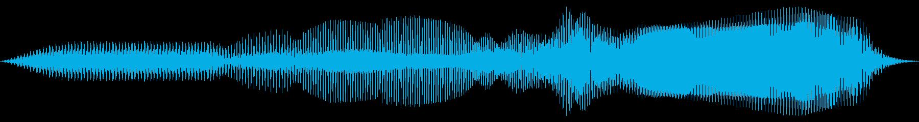 コミカル クラリネオ 上昇の再生済みの波形