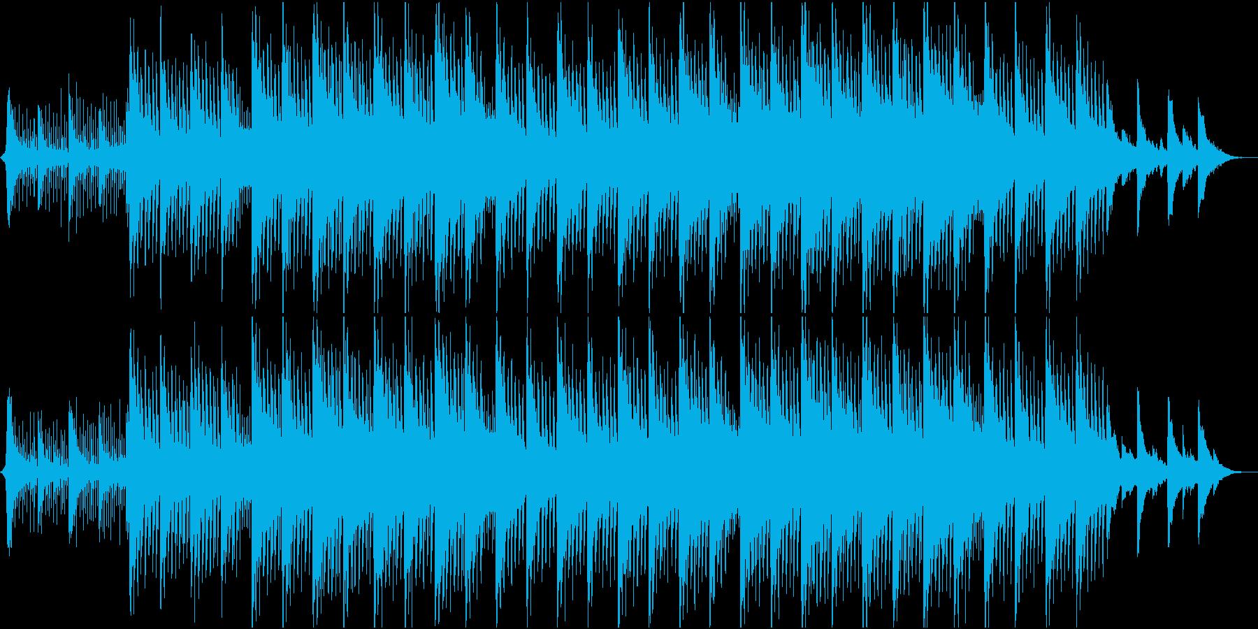 神秘的リラックス…雪のようなピアノの再生済みの波形