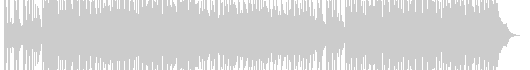 弦楽器・管楽器の軽快な可愛いPOPSの未再生の波形