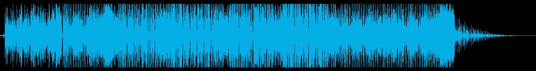 オシャレで可愛いジャージークラブの再生済みの波形