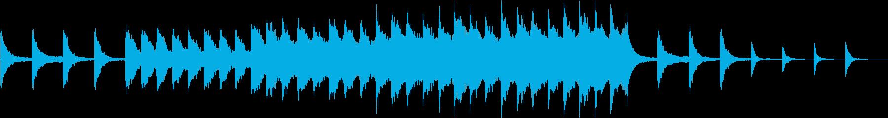 劇伴/儚い/虚しい/ピアノとストリングスの再生済みの波形