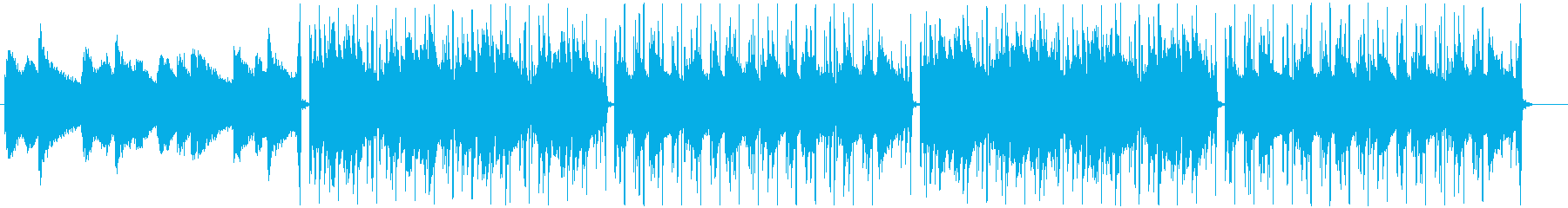 幻想的でメロウなLofi-Hiphopの再生済みの波形