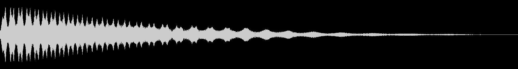 ピュルルルル↓_UFOが失速、墜落する音の未再生の波形