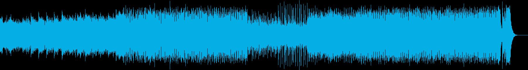 スタート直前の緊張感〜レーススタート爆走の再生済みの波形