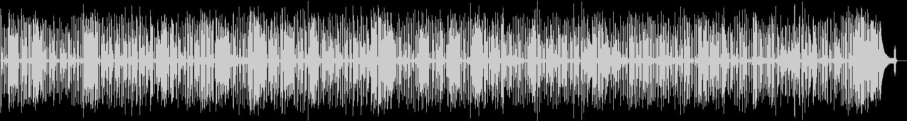 軽快で明るい映像に合うソロジャズピアノの未再生の波形