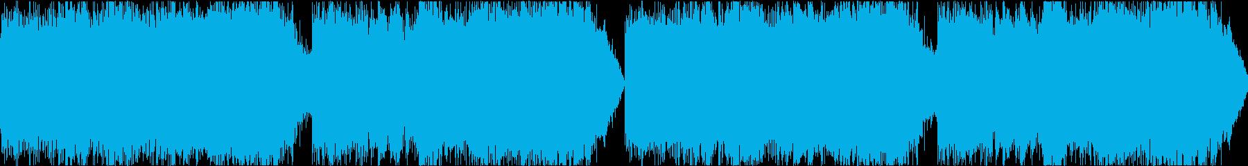 サイレン siren 警報 アラート10の再生済みの波形