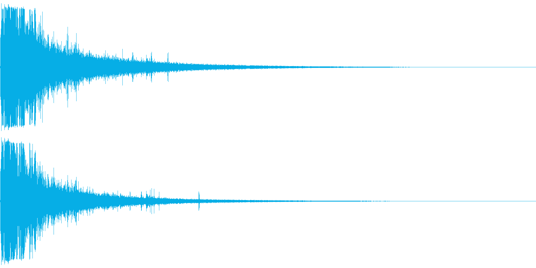 レンガ壁への車の衝撃車の衝突の再生済みの波形