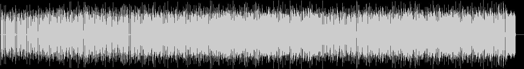 ファミコンのシューティングゲームの様な曲の未再生の波形