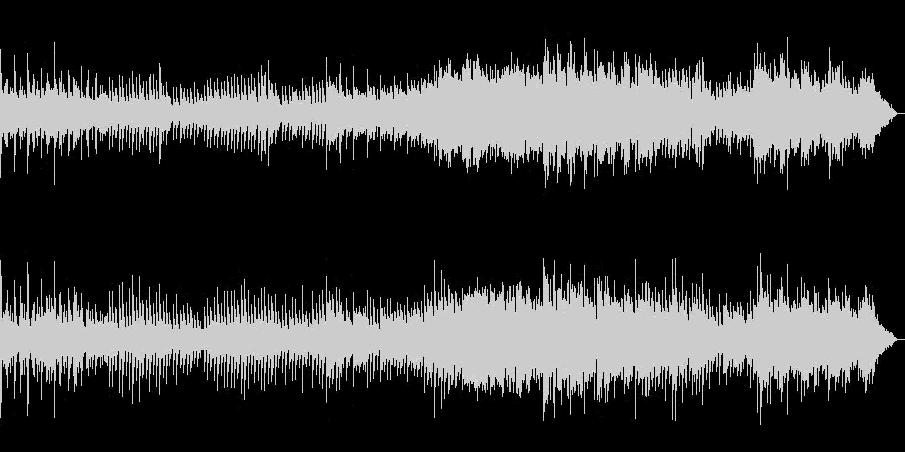 アベマリア(カッチーニ)カラオケの未再生の波形