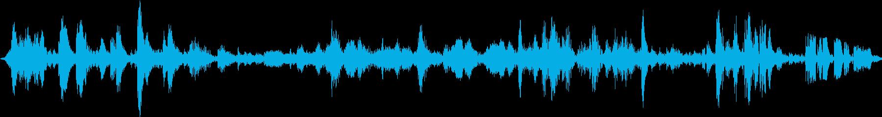 電子テレメトリ:ファイルのダウンロ...の再生済みの波形