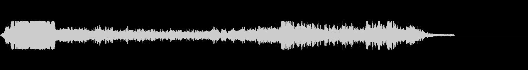 海外FMラジオジングルぽい音の未再生の波形