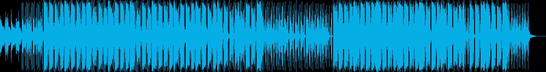 おしゃれで落ち着いた雰囲気のチルアウトの再生済みの波形