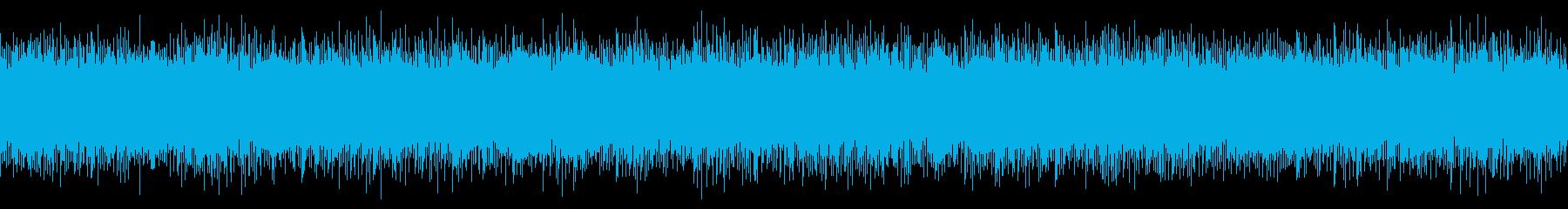 明るい浮遊感のあるアンビエントの再生済みの波形