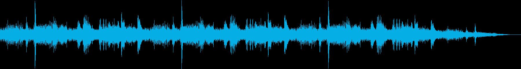 森のざわめきの再生済みの波形