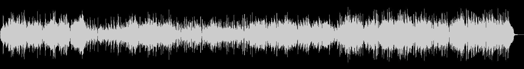 クラリネットとアコーディオのパリ風楽曲の未再生の波形
